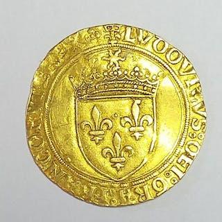 France - Louis XII (1498-1515) - Ecu d'or au soleil - Gold