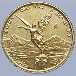 "Mexico - 1/10 Onza 2009 ""Libertad"" - Gold"