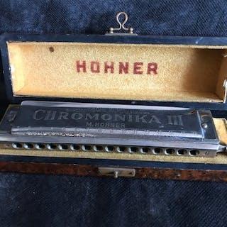 Hohner - Chromonika III C - Chromatische Mundharmonika - Frankreich