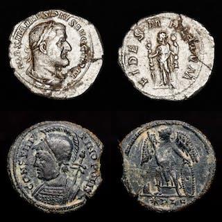 Römisches Reich - Lot comprising two coins