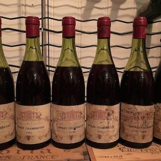 1970 Gevrey Chambertin- Bourgogne, Gevrey Chambertin - 5 Flaschen (0,75 l)