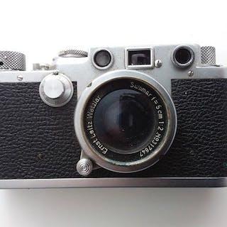 Leica (Leitz) IIf (1952-53) No622879 + Summar 5cm F2.0