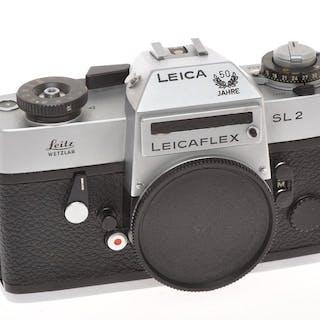 Leica (Leitz) rare Leicaflex SL2 50 Jahre chrome finish 1975