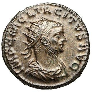 Impero romano - AE Antoninian, Tacitus (275-276) Antiochia, Jupiter - Top!