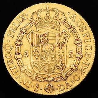 España - 8 escudos- Carlos III (1759- 1788)