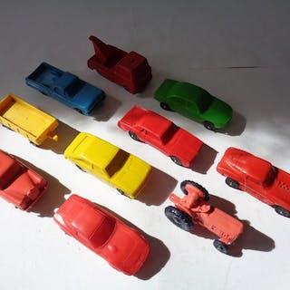Tomte replica - 1:43 - Kavel met 10 stuks vinyl Cars: Look like Tomte