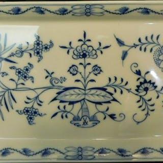 Meissen - Piatto torta - modello cipolla - Porcellana