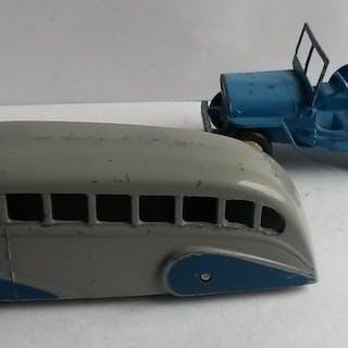 Dinky Toys - 1:48 - No.25j Jeep et 29b Bus