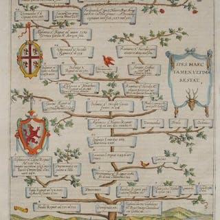 Spanien, Écija; A. Albizzi - Reges Asturiae Et Legionis - 1621-1650