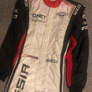 Marussia - Formula One - Charles Pic - 2012 - Racesuit