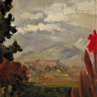 Viggo Brandt (1882-1959) - Scandinavian mountainous Landscape
