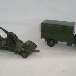 Dinky Toys - 1:48 - First Original Issue British Army...