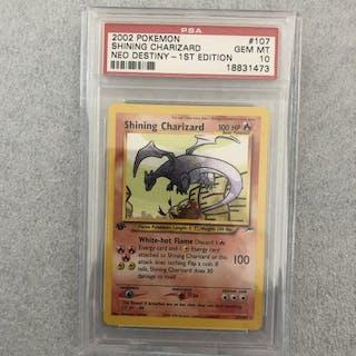 Pokemon - Pokémon - Sammelkarte SHINING CHARIZARD 1ST...