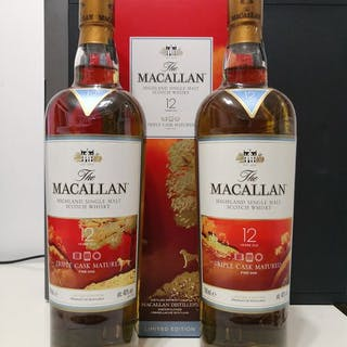 Macallan 12 years old Triple cask 2018 Year of the Dog...