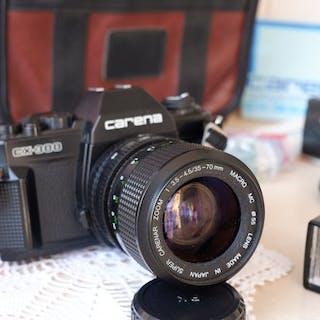 Porst (Hapo / Carena) CX 300 - 35-70mm + acc.