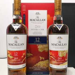 Macallan 12 years old Double cask 2018 Year of the Dog...