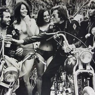 Attrib.  Laszlo Kovacs (1933-2007)/Keystone - (3x) 'Easy Rider