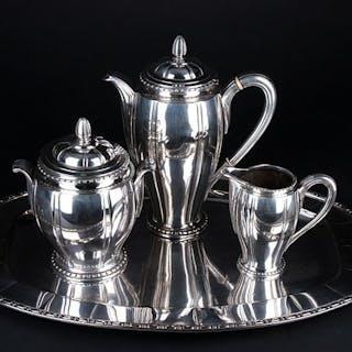 Levert - Grande set su un vassoio da caffè - Art-Deco