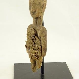 Fetish (1) - Holz, Stroh - Fon - Benin