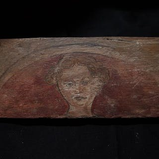 Ceiling board - Renaissance - Wood - Late 15th century