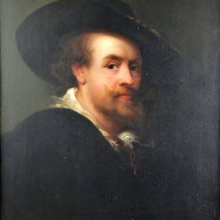 Follower of Frans Hals (1582-1666) - Portrait of a Gentleman