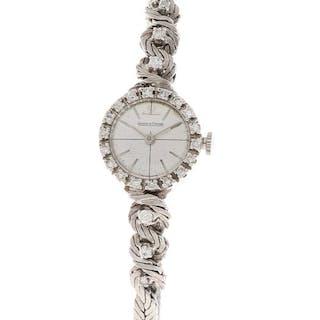 Jaeger-LeCoultre - classic white gold + diamonds - Women - 1960-1969