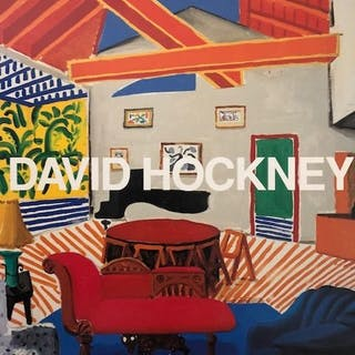 David Hockney - Lot with 3 books - 1976/1992