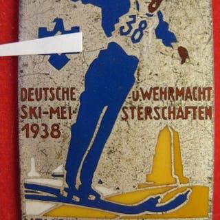 Deutschland - Wehrmacht Schi Meisterschaft - Auszeichnung
