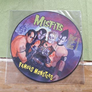 Misfits - Famous Monsters - Limitierte Picture Disc - 1999