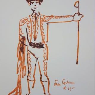 Jean Cocteau - Toréador et son épée