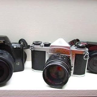 Asahi, Pentax S1a + 55mm F2.0 // Pentax Z10 + AF35-80mm //Pentax Zoom 70