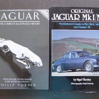 Bücher - Jaguar - Lot; The Jaguar XK and Jaguar The...