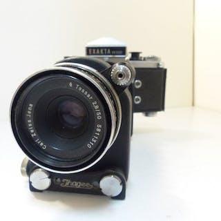 Ihagee (Exakta) VX500 + Bellows + tessar 50mm F2.8