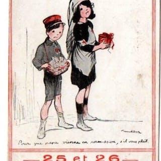 Francia - Prima Guerra Mondiale - Cartoline (Collezione di 50) - 1909