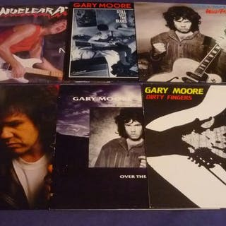 Gary Moore - 6 famous classic albums incl