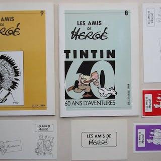 Tintin - nummer 7/8 - 2x revue les amis de Hergé...