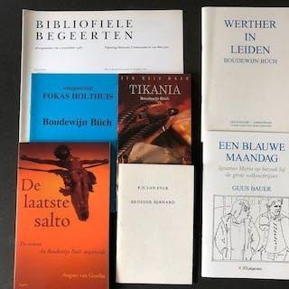 Boudewijn Büch - Lot met 7 curiosa - 1982/2006