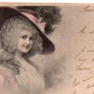 Francia, Spagna - Fantasy, Vienna, umorismo - Cartoline (Set di 120) - 1902