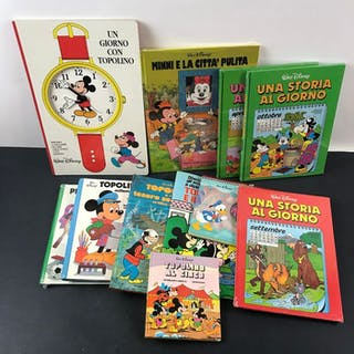 Topolino & Minnie - Collezione di 11 volumi - Erstausgabe