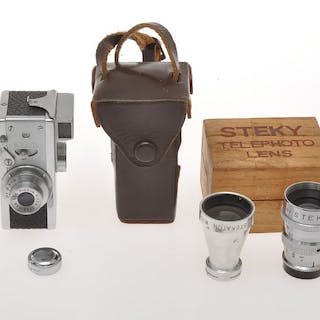 Riken Steky III 16mm subminiature camera with 25/3.5