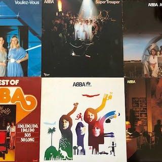 ABBA - Lot Of 6 Albums - Diverse Titel - LP's - 1976/1981