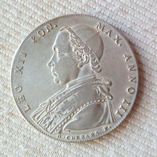 Italia - Stato Pontificio - Leone XII ( 1823-1829 )...