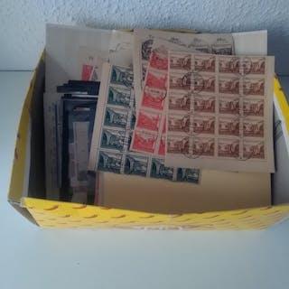 Deutschland Sowjetzone. 1945/1946 - Great box in stock cards