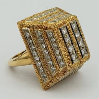 Ruth satsky - 18 kt. Gold - Ring Diamond