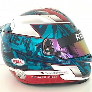 Renault e.dams  - Formula E - Sébastien Buemi - 2015 - Casque replica Bell