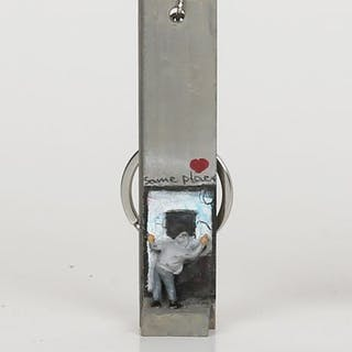 Banksy - Key Fob (P)