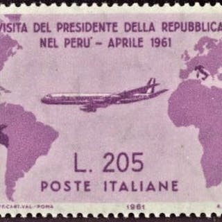 Italien Republik 1961 - Gronchi Rosa