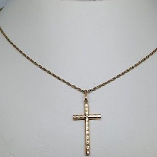 18 quilates Oro amarillo - Colgante, Collar