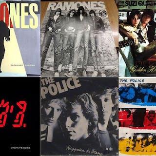 Police, Ramones - Diverse Künstler - Diverse Titel - LP Album - 1975/1983