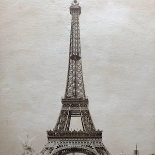 Anoniem (XIX)  - Eiffeltoren ten tijde van de...